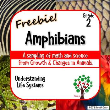 Growth and Changes in Animals FREEBIE: Amphibians