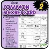 Common Core Checklist - Math Grade 2