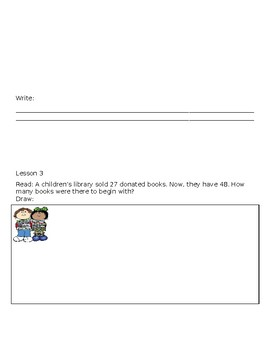 Gr 2 Mod 5 Add and Subt Within 1,000 with Word Prob to 100 Application Booklet