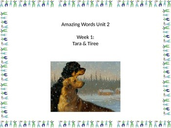 Gr 2 Unit 2 Amazing Words with Picture visuals - Reading Street
