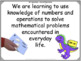 Gr 2/3 Split Math Curriculum Comparison and Learning Goals Posters - 177 pages