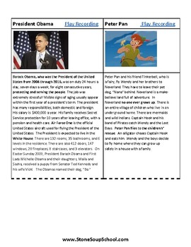 Gr 3-5 Compare & Contrast(F vs NF)w/Learning Disabilities:Gandhi,Obama,Superman
