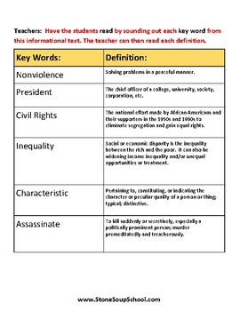 Gr 3 - 5 Compare and Contrast Characters (F vs NF) - Speech and Language