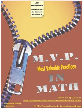 Gr. 3-8 MVPs in Math-Common Core Mathematical Practices