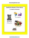 Braille: Moods of 3 Stories: Peter Pan, Xmas Carol, Alice.