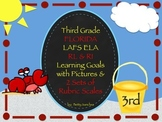 Gr 3 LAFS RL & RI Goals 2 Sets of Rubrics, Graphics & Self-Monitoring Tool