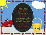 Gr 3 LAFS RL & RI Goals 2 Sets of Rubrics, Graphics & Self-Monitoring Tool