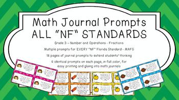 Gr 3 Math Journal Prompt/Topic Florida Standards MAFS Numb