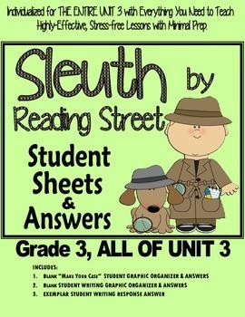 Gr. 3, Reading Street, Sleuth magazine Lesson Plans & Stud