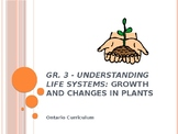 Gr. 3 Science Understanding Life Systems: Growth and Chang