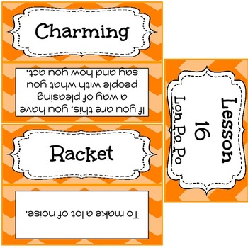 Gr. 3 Storytown Robust Vocabulary Word Wall: Unit 4