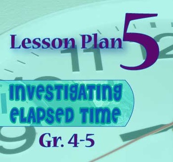 Gr. 4-5 Lesson 5 of 12: SECONDS Count!