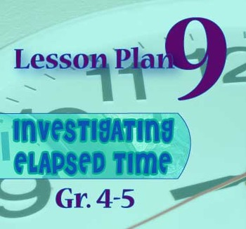 Gr. 4-5 Lesson 9 of 12: Elapsed Time REVIEW Game