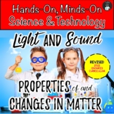 ONTARIO SCIENCE:COMBINED GRADES 4/5 LIGHT & SOUND AND CHAN
