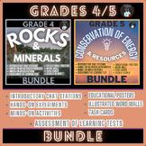 ONTARIO SCIENCE: GRADES 4/5 ROCKS & MINERALS AND CONSERVAT