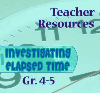 Gr. 4-5 Teacher Resources for Lessons 1-12