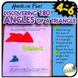 180 Degree Angle Triangle Discovery Math Center – Common Core Aligned