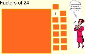 Gr. 4-6 Interactive Math BUNDLE- Factors & Multiples, Fractions, Probability