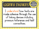 Version 8.3 - Grade 4 - All English Learning INTENTIONS & Success Criteria!