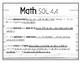 Gr 4 English and Math VA SOL posters