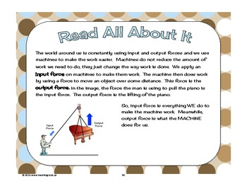 Pulleys And Gears Worksheets For Grade 4: gr 45 science unit for pulleys gears forces structures by ,