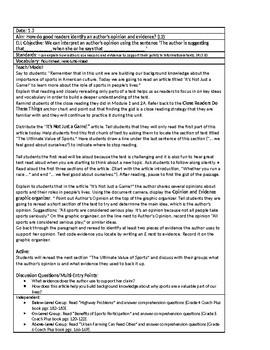 Gr. 5 EngageNY Module 3A Unit 1 Lesson Plans