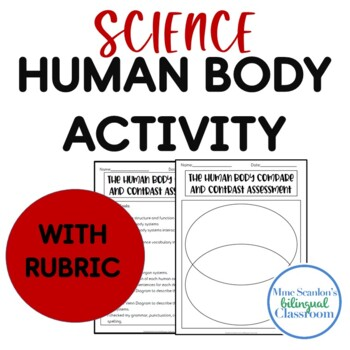 Human Body Compare and Contrast Assessment with Rubric