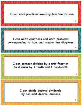 Gr 5 Module 4, Multiplication and Division of Fractions and Decimal Fractions