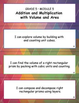 Gr 5 Module 5, Addition and Multiplication with Volume and Area