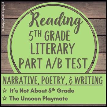 Gr 5 Narrative Part A/Part B: PARCC/LEAP Test Prep/Assessment