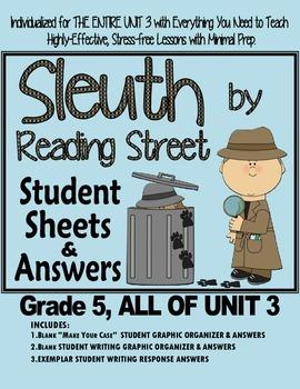 Gr. 5, Reading Street, Sleuth Magazine Lesson Plans & Stud