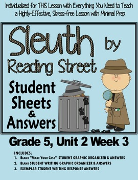 Sleuth Reading Street, Gr. 5 Unit 2 Wk 3, The Ch'i-lin Pur