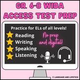 Gr. 6-8 WIDA ACCESS ESL Test Prep: Volume 1