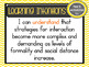 Version 8.3 - Grade 6 - All English Learning INTENTIONS & Success Criteria!