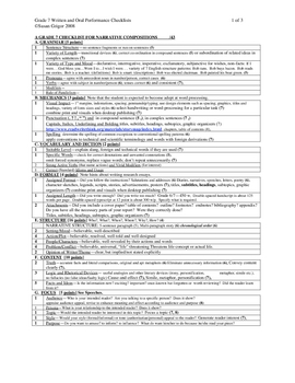 Gr 7 Narrative&Expository checklists