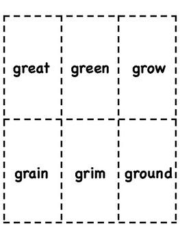 Gr Blend Bingo [10 playing cards]
