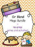Gr Blend Mega Bundle! [11 no-prep games and activities]