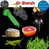 Gr Blends Clip Art Phonics Photo & Artistic Digital Stickers