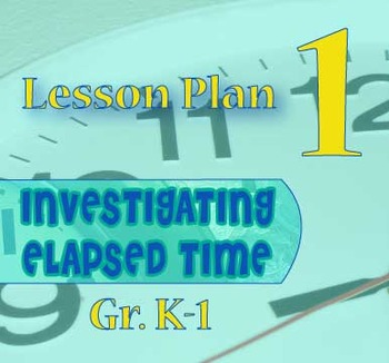 Gr. K-1 Lesson 1 of 12: Introduction to ELAPSED Time (to the Hour,1/2 HOUR)