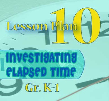 Gr. K-1 Lesson 10 of 12: Elapsed Time PROBLEM SOLVING (Hour and half-hour)