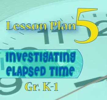 Gr. K-1 Lesson 5 of 12: ONE MINUTE of Elapsed Time