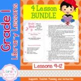 Gr. 1: 8 Lessons (Growing Bundle - Fiction - Plot, Characters, Read& Build)