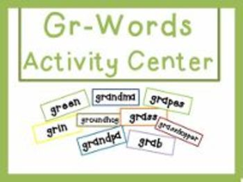 Gr-Words Activities Center