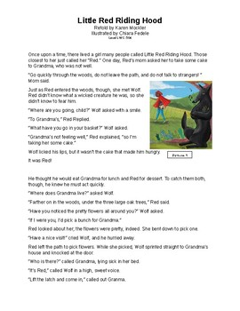 Gr2 Common Assessment Comparing Two Versions of Little Red Riding Hood