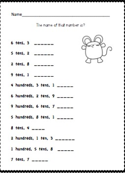 Gr.2 Math, Module 3 Practice - Place Value, Counting, & Comparison of Numbers