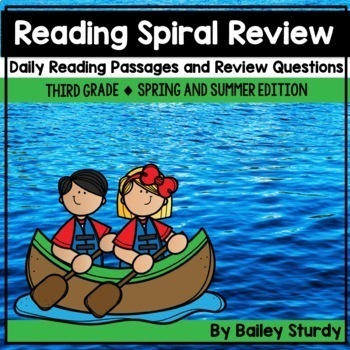Gr3 Spiral Reading Review Spring & Summer Edition