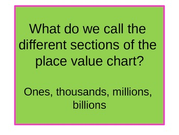 Gr4 Common Core Unit 1 Place Value and Rounding  Vocabulary Play Powerpoint