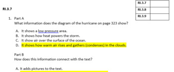 Gr4 Journeys Lesson 11 Earthquakes & Katrina Common Assessment