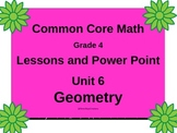 Gr4 Math Common Core Unit 6 Geometry Interactive Notebook