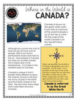 (Gr. 4) Physical Regions of Canada